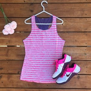 Brooks Reversible Workout Tank Top